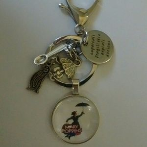Accessories - Disney Mary Poppins Keychain/Purse Dangle